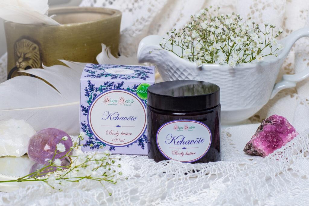 Kehavõie lavendlihoolitsus